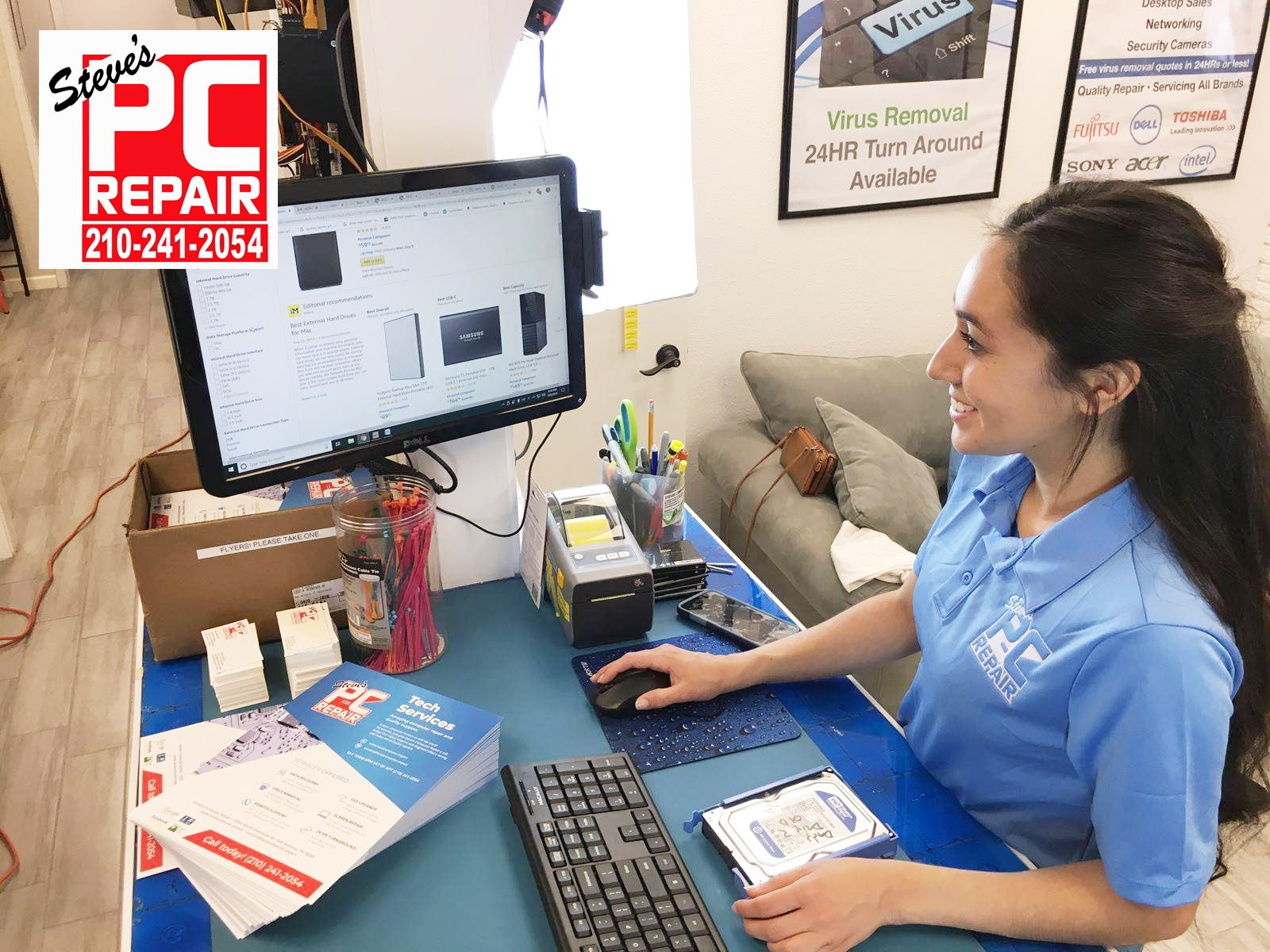 1st And Best Choice For Computer Repair In San Antonio
