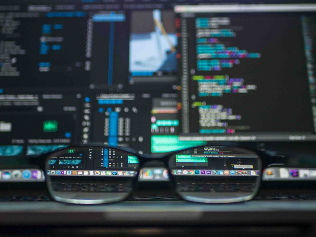 glasses and coding for computer trojan malware